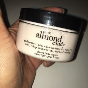 Philosophy pink almond candy 4 oz, sealed